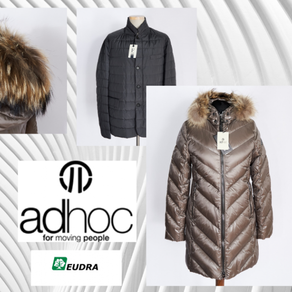 Adhoc Jackets brandedclothes outletclothes stockclothes drabuziai didmena стокодежда stockclothes outlet clothes branded clothes  winterjacket